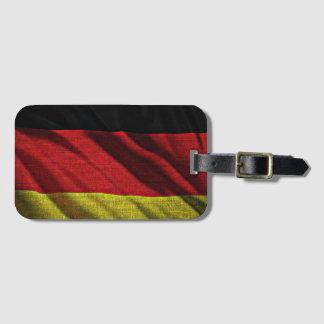 Deutsche Flagge Kofferanhänger