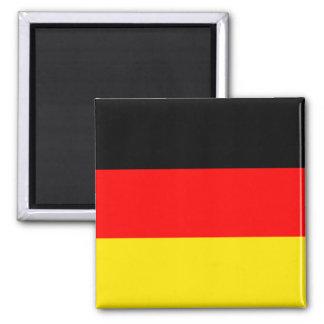 Deutsche Flagge Quadratischer Magnet