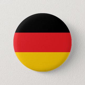 Deutsche Flagge Runder Button 5,7 Cm