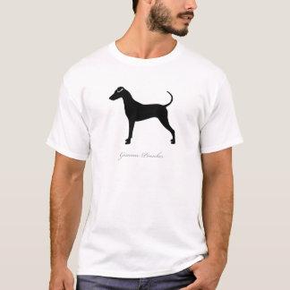 Deutsche Pinscher-Silhouette T-Shirt