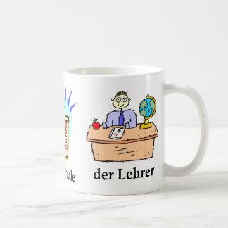 Deutsche SchulTasse Kaffeetasse
