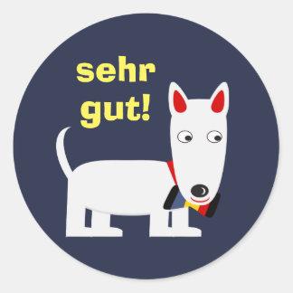 """Deutsche Sprach""""guter Job-"""" Aufkleber mit"""