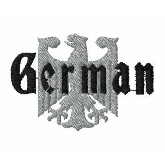 Deutscher Adler gesticktes Polo-Shirt Besticktes Shirt