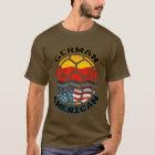 Deutscher amerikanischer Fußball-T - Shirt