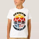 Deutscher amerikanischer Fußball T-Shirt