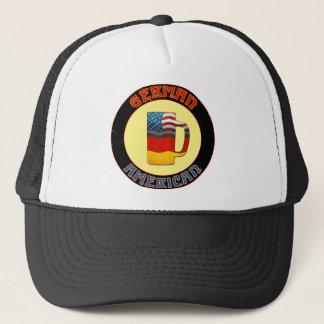 Deutscher amerikanischer truckerkappe