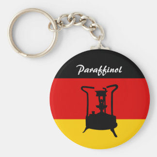 Deutscher Druckofen der Flaggen-  Paraffinol Schlüsselanhänger