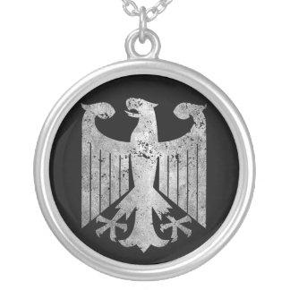 Deutscher Eagle Versilberte Kette