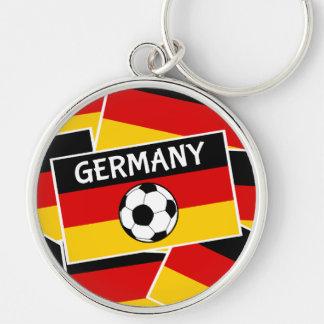 Deutscher Flaggen-Fußball Schlüsselanhänger