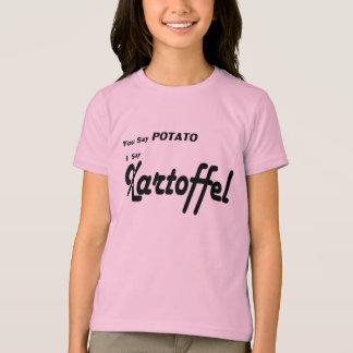 """Deutscher Kartoffel """"Sie sagen Kartoffel"""" T-Shirt"""