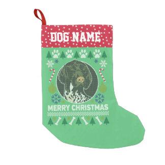 Deutsches kurzhaariger Zeiger-Hundehässliches Kleiner Weihnachtsstrumpf