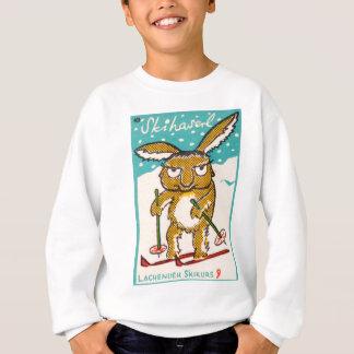 Deutsches Ski-Häschen Sweatshirt