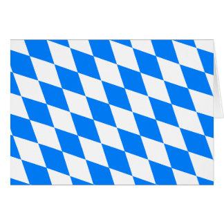 Deutschland-Bayern-Flagge Karte