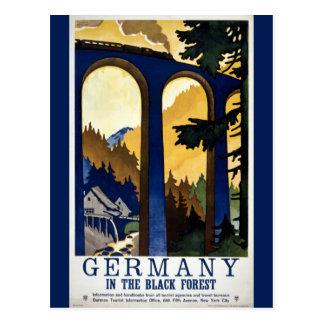 Deutschland in dem schwarzer WaldVintagen wieder Postkarte