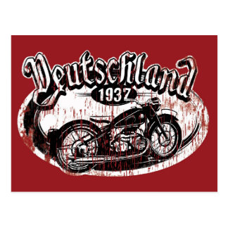 Deutschland Motowear Postkarte