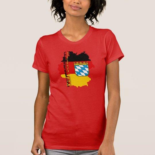 Deutschland Oktoberfest Wappen Bayern T-Shirt