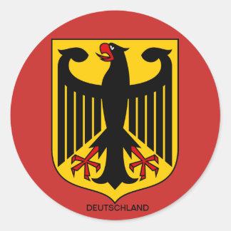 Deutschland Wappen Großer Aufkleber