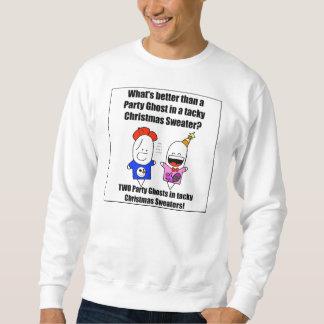 Deux chandails de mauvais goût et un fantôme de sweatshirt