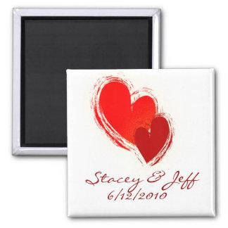 Deux coeurs dans l'amour aimants