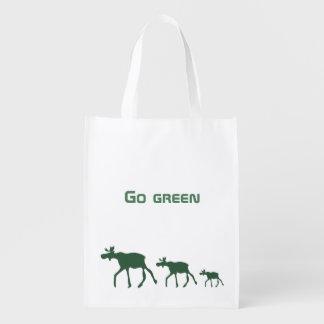 Devenez écolo avec des orignaux sacs d'épicerie
