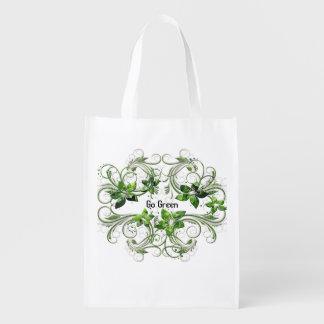 Devenez écolo réutilisable de sac sac d'épicerie
