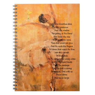 Devotional Gebets-Zeitschrift mit Ballerina Notizblock
