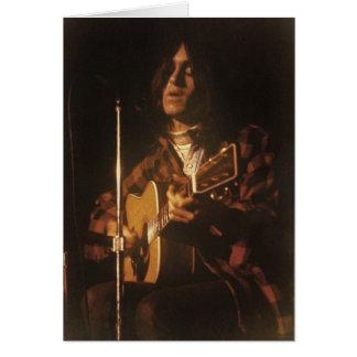 DF im frühen 70er Notecard des Konzerts Karte