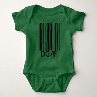 DGAF Barcode Baby Strampler