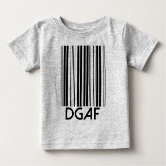 DGAF Barcode Baby T-shirt