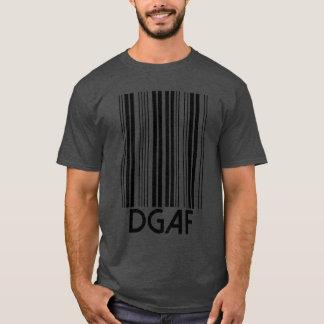 DGAF Barcode T-Shirt