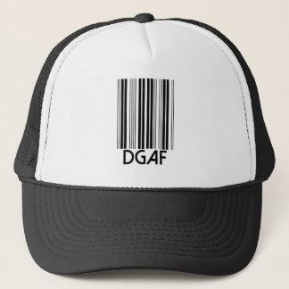 DGAF Barcode Truckerkappe