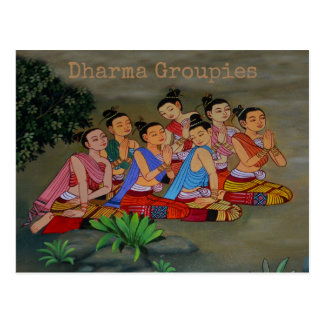 Dharma Groupien - Postkarte