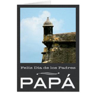 Dia de los Padres Porto Rico Carte De Vœux