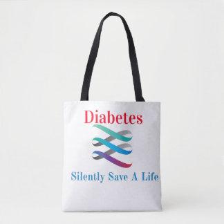 Diabetes. Retten Sie still a-Leben-Taschentasche Tasche