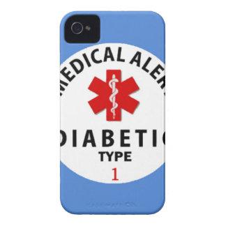 DIABETIES TYP 1 Case-Mate iPhone 4 HÜLLE