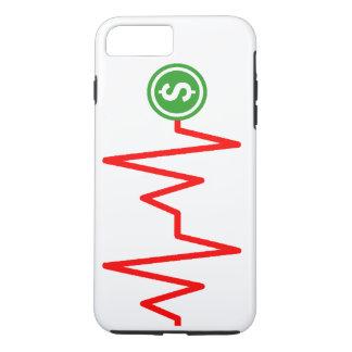 Diagramm-Dollar-Zeichen auf lager iPhone 7 Plus Hülle