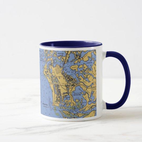 DIAGRAMM-Kaffee-Tasse Marco Insel-, Florida See Tasse