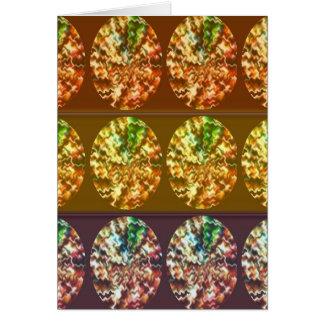 Diamant-Dekorations-Energie-Muster Karte