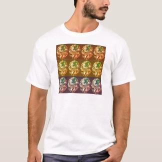 Diamant-Dekorations-Energie-Muster T-Shirt