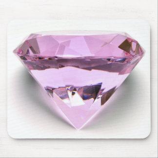 Diamant du tapis de souris w Pink