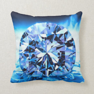 Diamant im Himmel Foto-Kissen Zierkissen