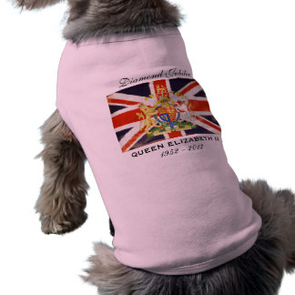 Diamant-Jubiläum-HundeT - Shirt der