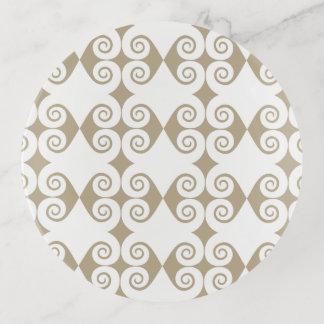 Diamant-Locken-Muster Dekoschale