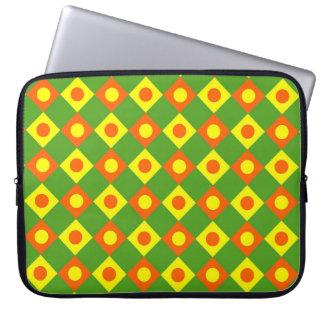 Diamant-Muster #105 Laptopschutzhülle