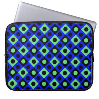 Diamant-Muster #115 Laptopschutzhülle