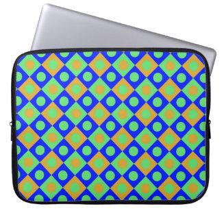 Diamant-Muster #119 Laptopschutzhülle