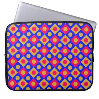 Diamant-Muster #121 Laptopschutzhülle