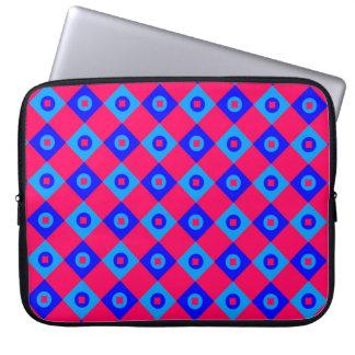 Diamant-Muster #123 Laptop Sleeve