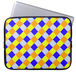Diamant-Muster #33 Laptopschutzhülle