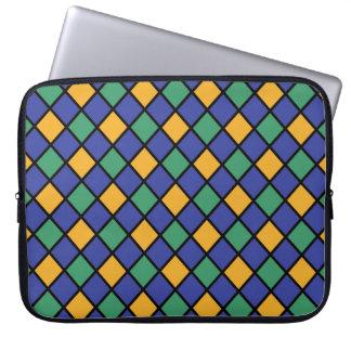 Diamant-Muster #84 Laptop Sleeve